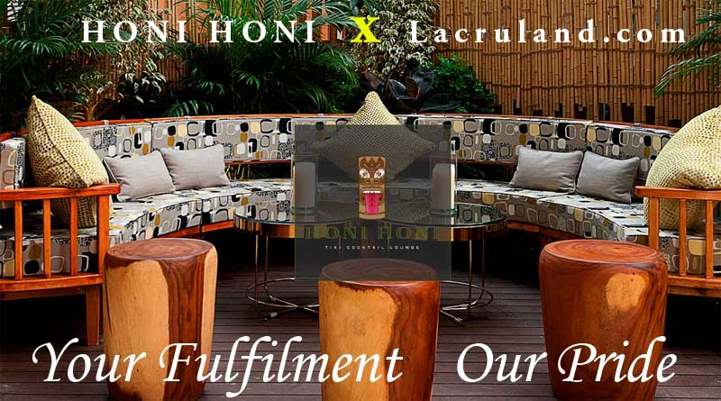 Honi Honi Bar testimonial for Lacruland