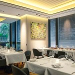 Hong Kong-based French restaurant Arcane is housed with artworks by a prominent London and New York based art gallery - Lacruland
